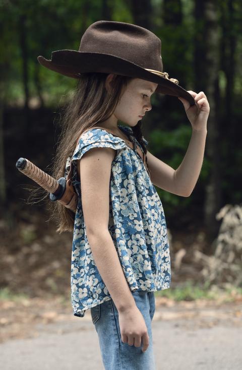 The Walking Dead _ Season 9, Episode 9 - Cailey Fleming as Judith -