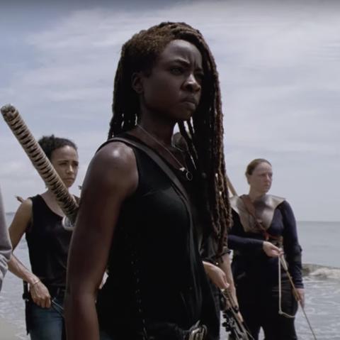The Walking Dead season 10: Michonne and  Judith