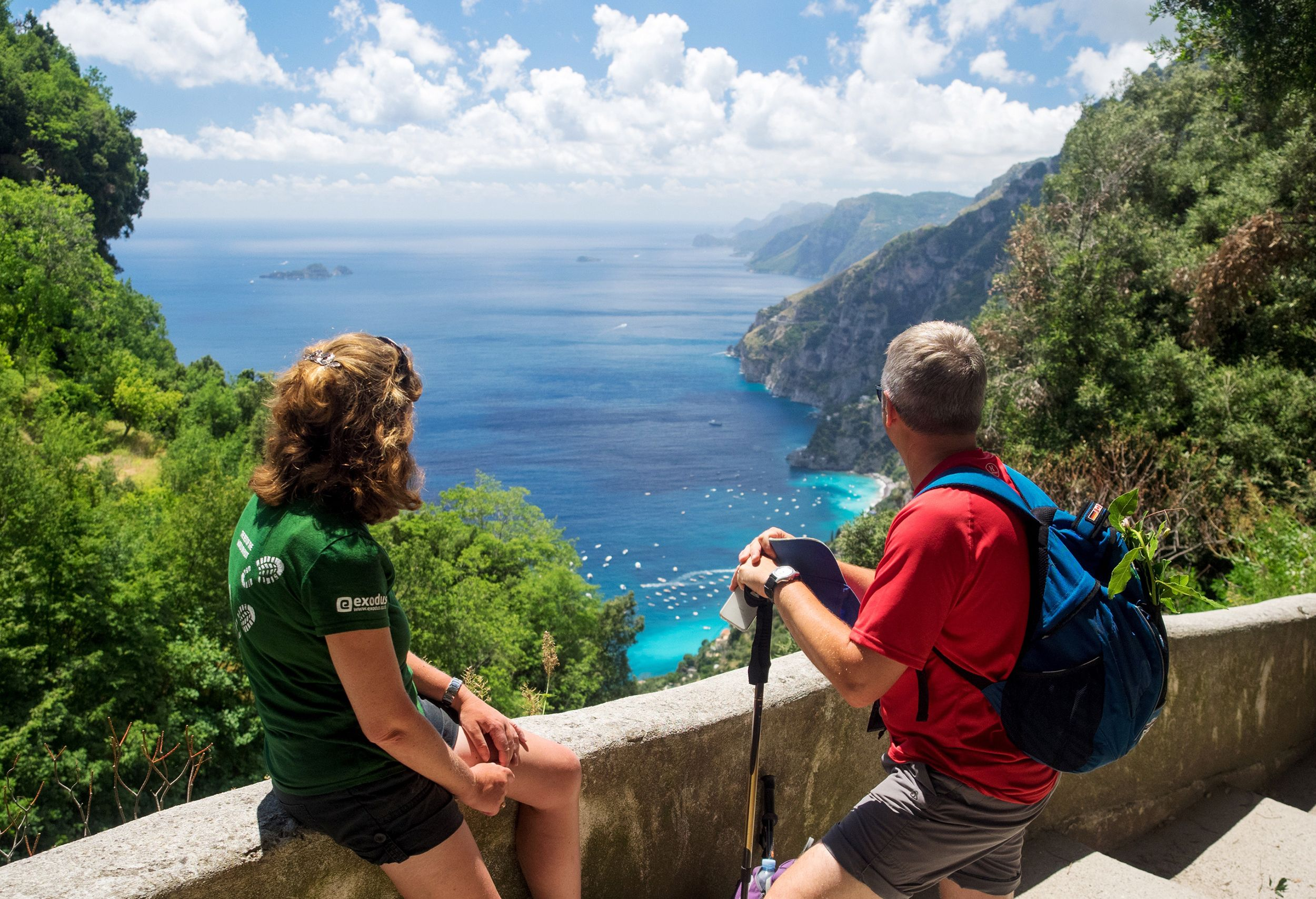 A walking holiday in Amalfi? It's the perfect way to explore Italy's glamorous coastline