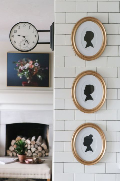 wall art framed silhouettes