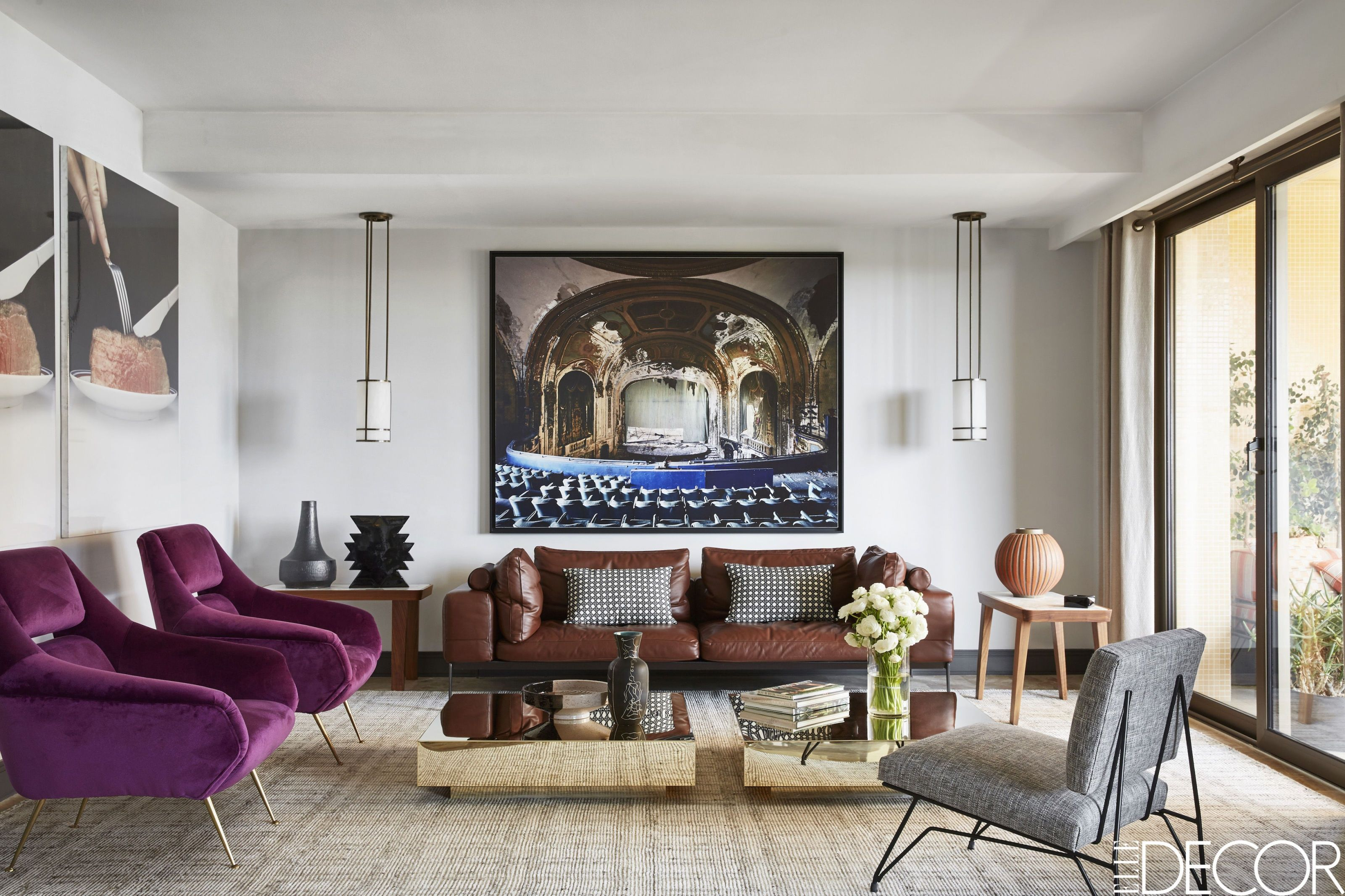 Wall decor for modern living room