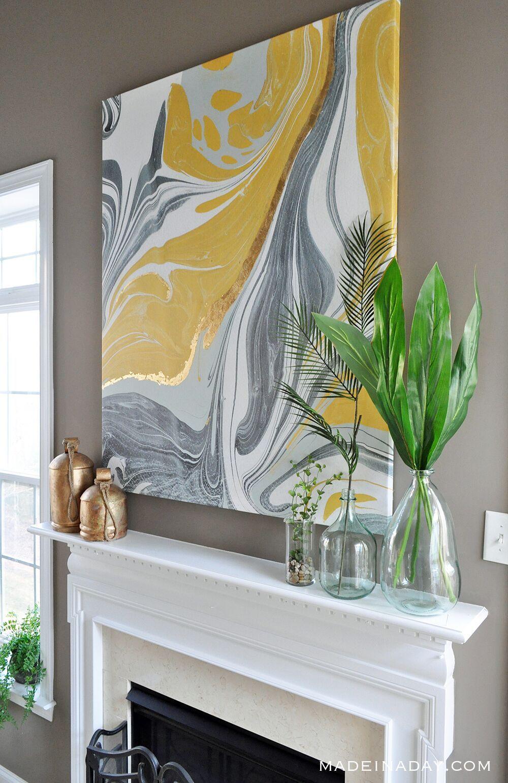 21 Diy Wall Art Ideas Homemade Wall Art Painting Projects