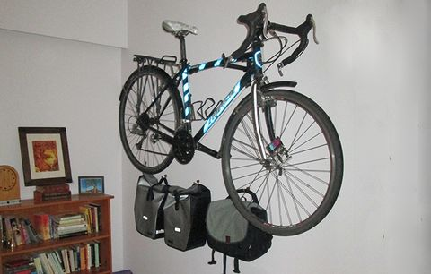 wall bike storage
