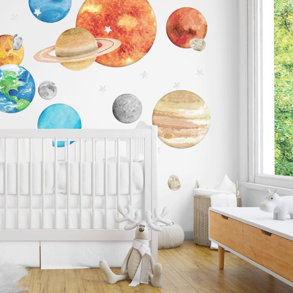 20 Best Wall Decals for Kids - Cute Temporary Wall Stickers