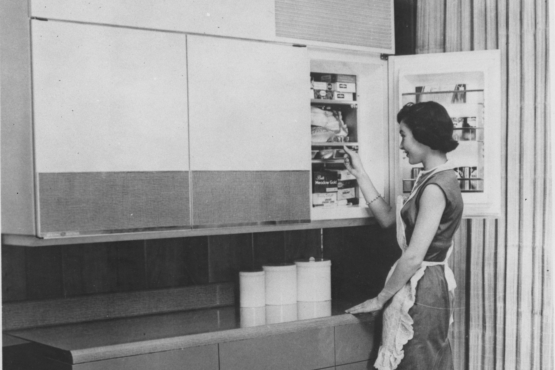 refrigerator wall