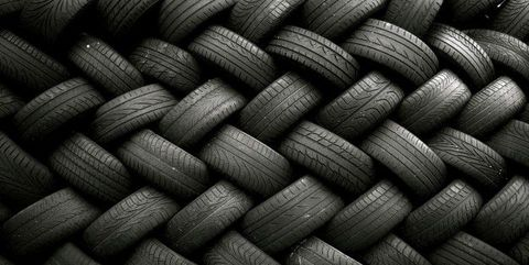 Style, Pattern, Black-and-white, Black, Monochrome, Synthetic rubber, Grey, Monochrome photography, Material property, Close-up,