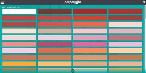 Carpetright launches visualiser