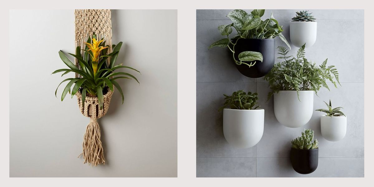 20 Best Wall Planters Gorgeous Indoor And Outdoor Plant Holders