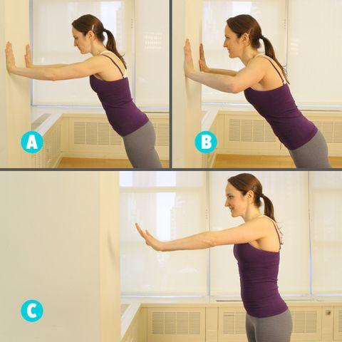 plyo wall pushups