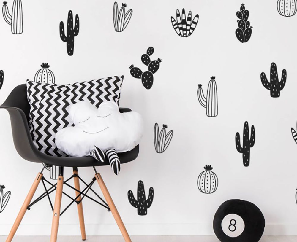 14 actually cool wall stickers for your university bedroom