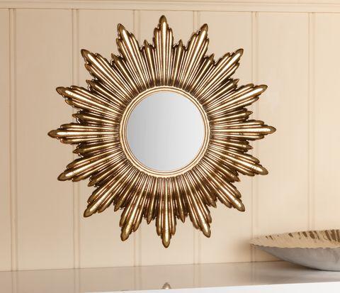 wall sun mirror
