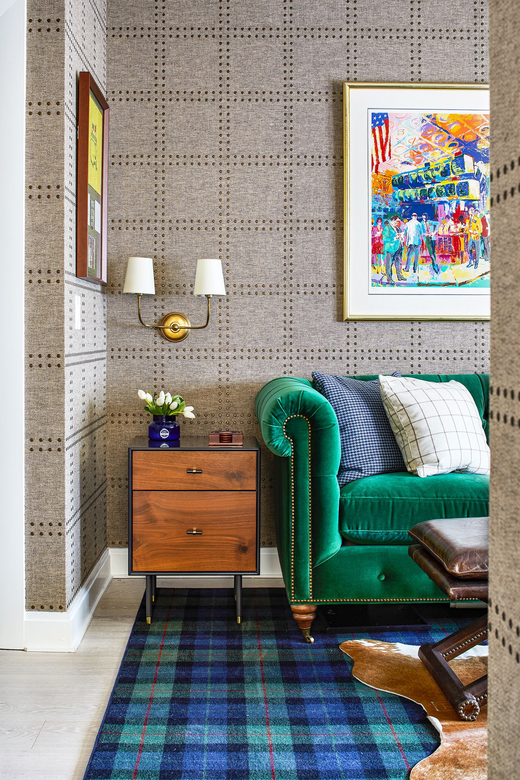 17 Wall Texture Design Ideas From Fabric Walls To Textured Paint Tricks