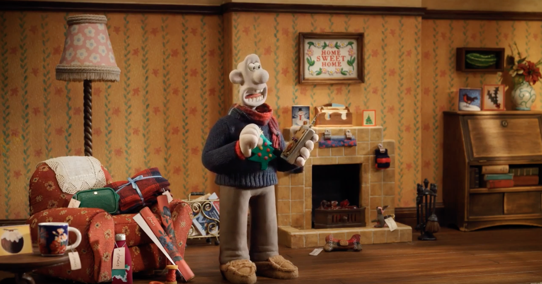 Joules teams up with Wallace and Gromit for an animated Christmas advert