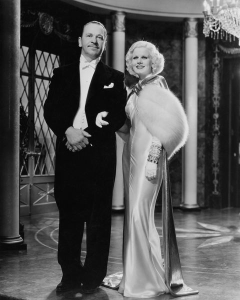 wallace beery and jean harlow in dinner at eight