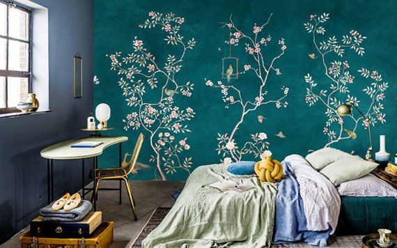 30+ Statement Wallpapers - Patterned Wallpaper Designs
