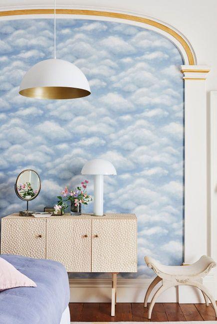 wallpaper ideas alcove