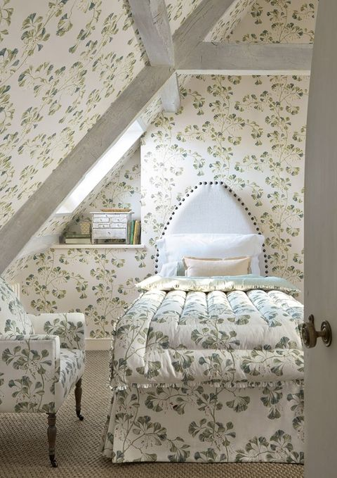 wallpaper ideas bedroom all over matching