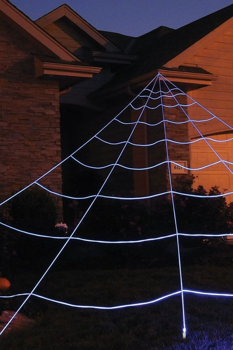 led spider web