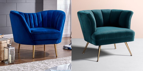 Furniture, Chair, Blue, Club chair, Product, Cobalt blue, Couch, Turquoise, Room, Design,