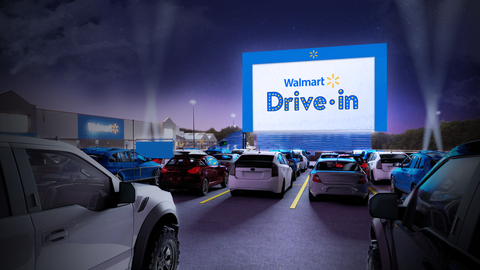 Drive In Movies Coming To Walmart Later This Summer
