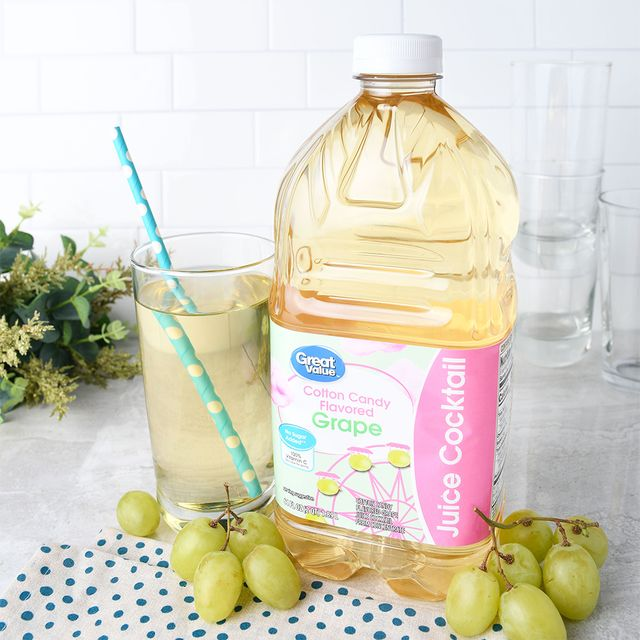walmart great value cotton candy grape juice