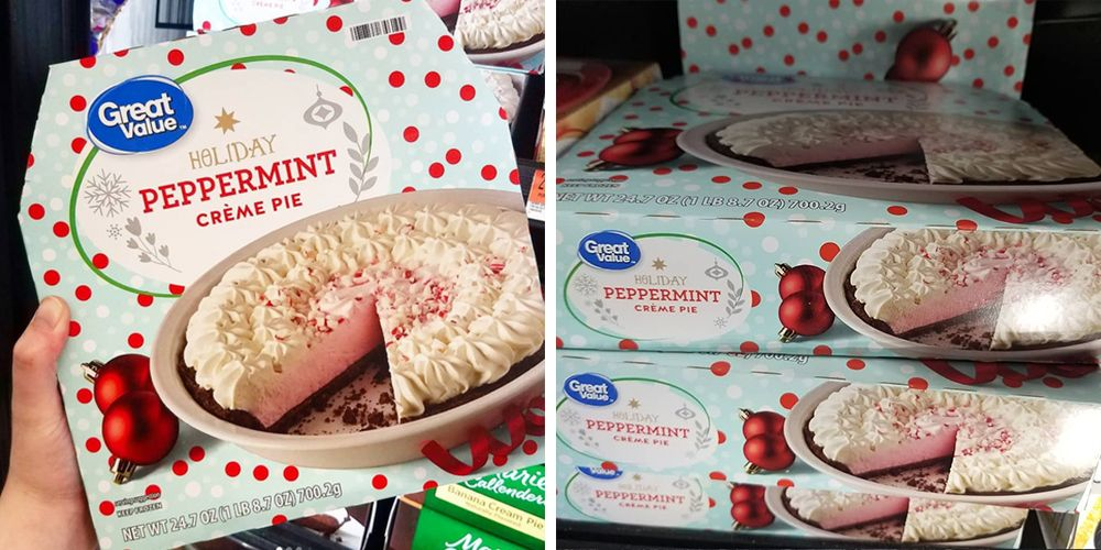 Walmart S Holiday Peppermint Cr 232 Me Pie Will Please Every