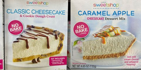 walmart no bake cheesecake mix