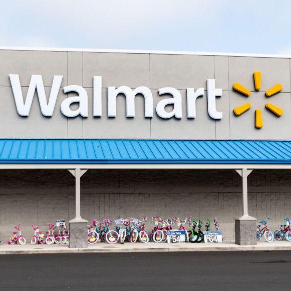 Walmart store in North Brunswick Township, New Jersey...