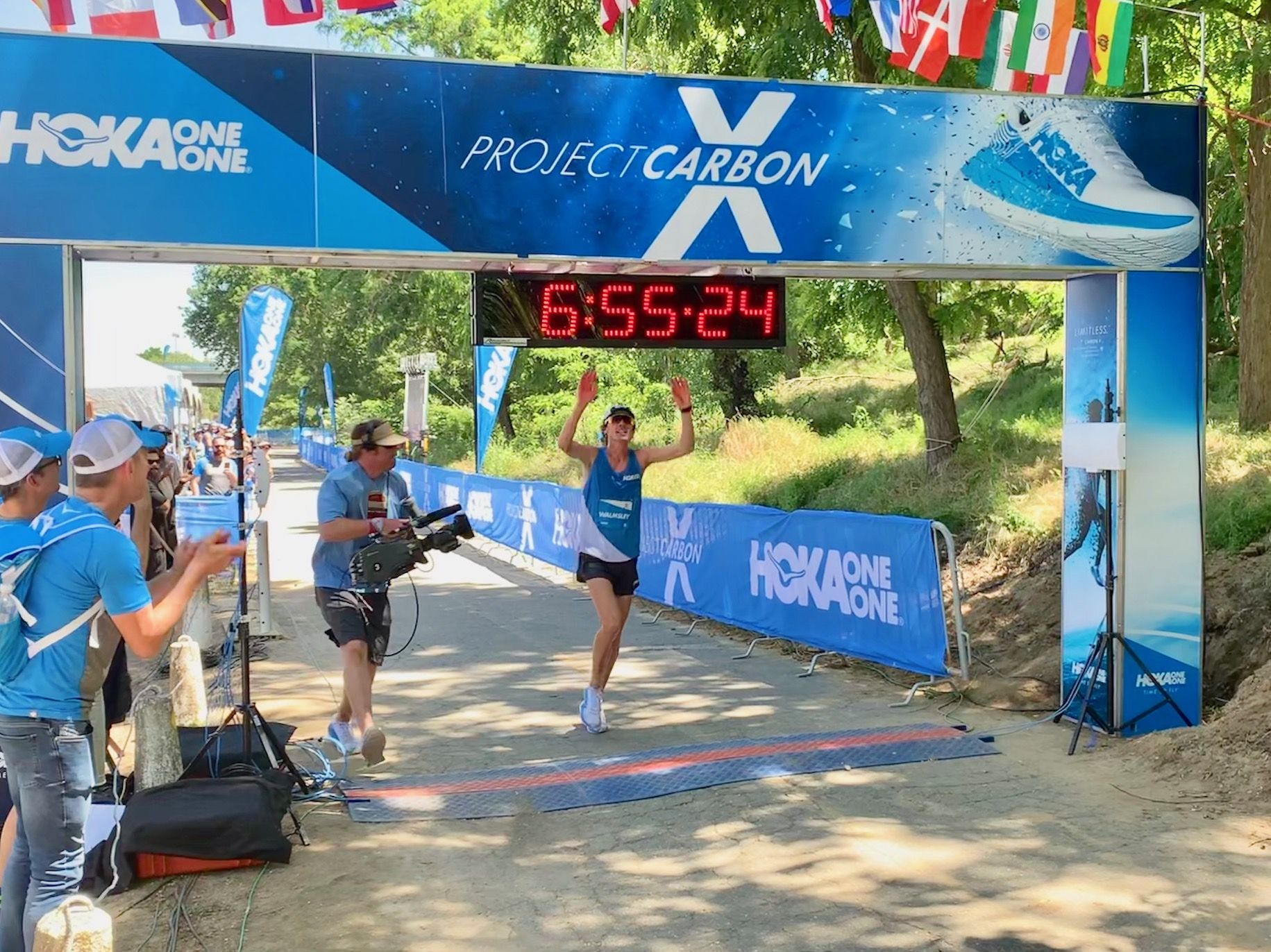 Jim Walmsley Sets New 50-Mile World Best in Hoka One One 100K Challenge