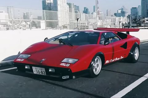 This Is The First Lamborghini Countach To Sprout A Wing