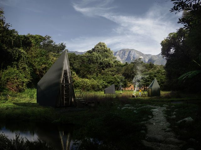 una cabaña para conectar con la naturaleza en méjico