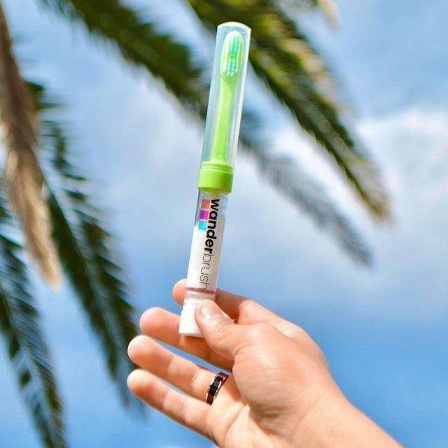 wanderbrush travel toothbrush
