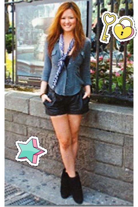 Clothing, Street fashion, Shorts, Footwear, Jeans, Blazer, Snapshot, Fashion, Outerwear, Denim,