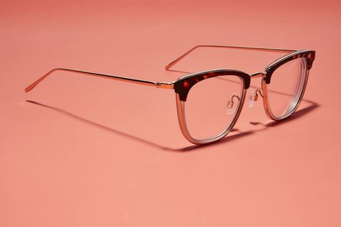 Eyewear, Glasses, Sunglasses, Transparent material, Personal protective equipment, Red, Vision care, Light, Product, Pink,