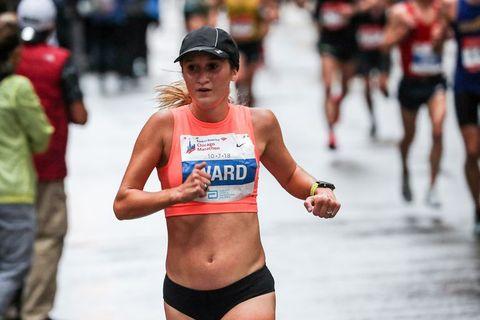 Taylor Ward Running Chicago Marathon