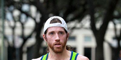 Michael Wardian at the 2013 San Antonio Marathon