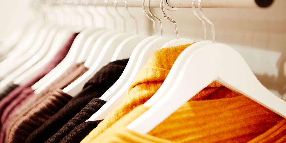 How to organise your wardrobe so getting dressed every morning is a doddle
