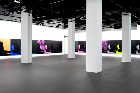 994301ae946 A Rare Andy Warhol Exhibit is Now on View at Calvin Klein s Headquarters