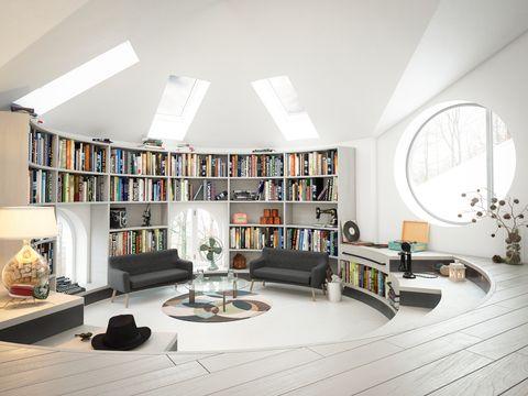 Warm and Cozy Attic Interior