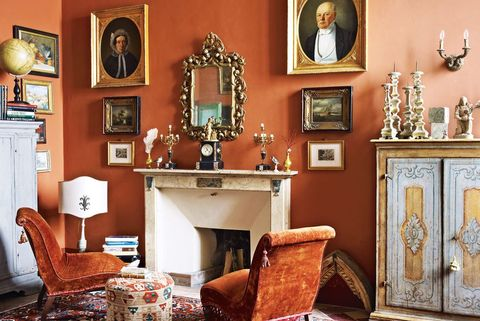 15 Best Orange Paint Colors for Your Home - Orange Room Decor Ideas