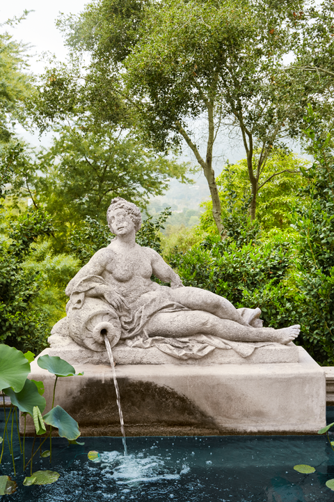 warner outdoor garden fountain veranda