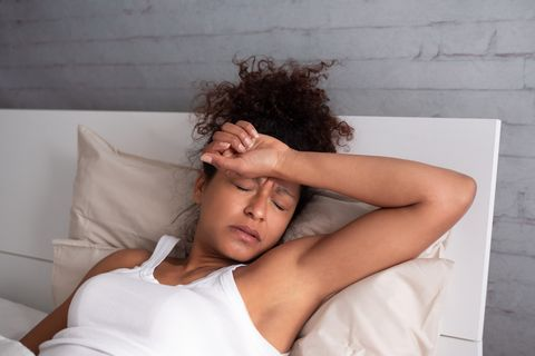 warning signs of cancers - night sweats
