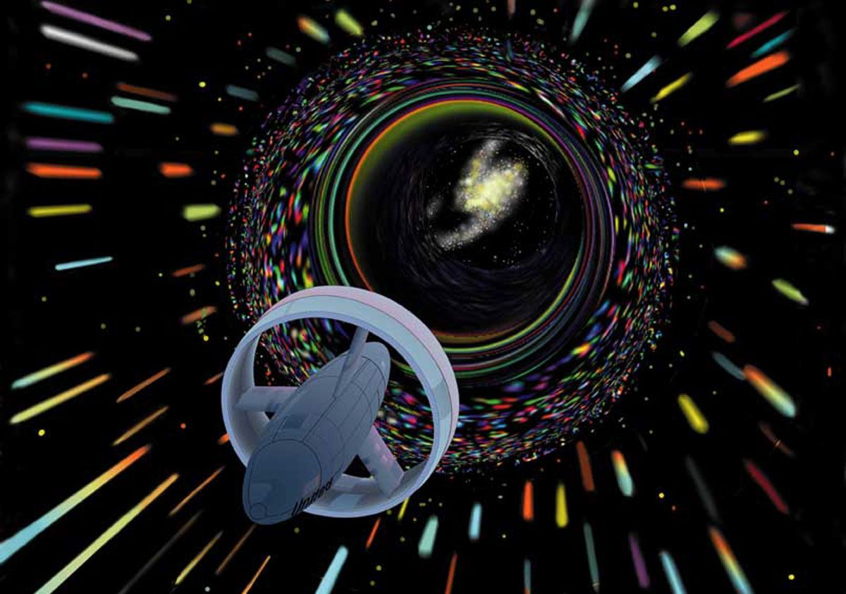 Warp Drive Is Theoretically Possible