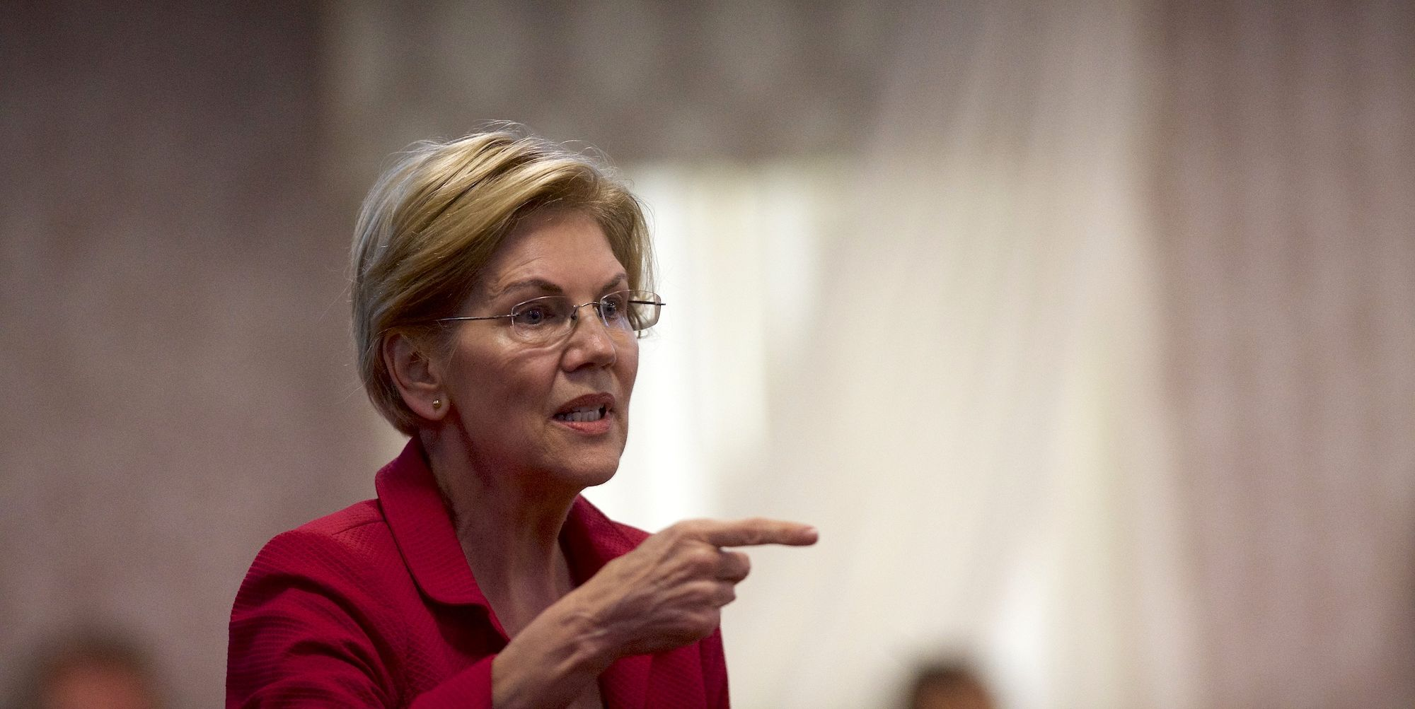 Democratic Presidential Candidate Elizabeth Warren Holds A Teacher's Union Town Hall in Philadelphia