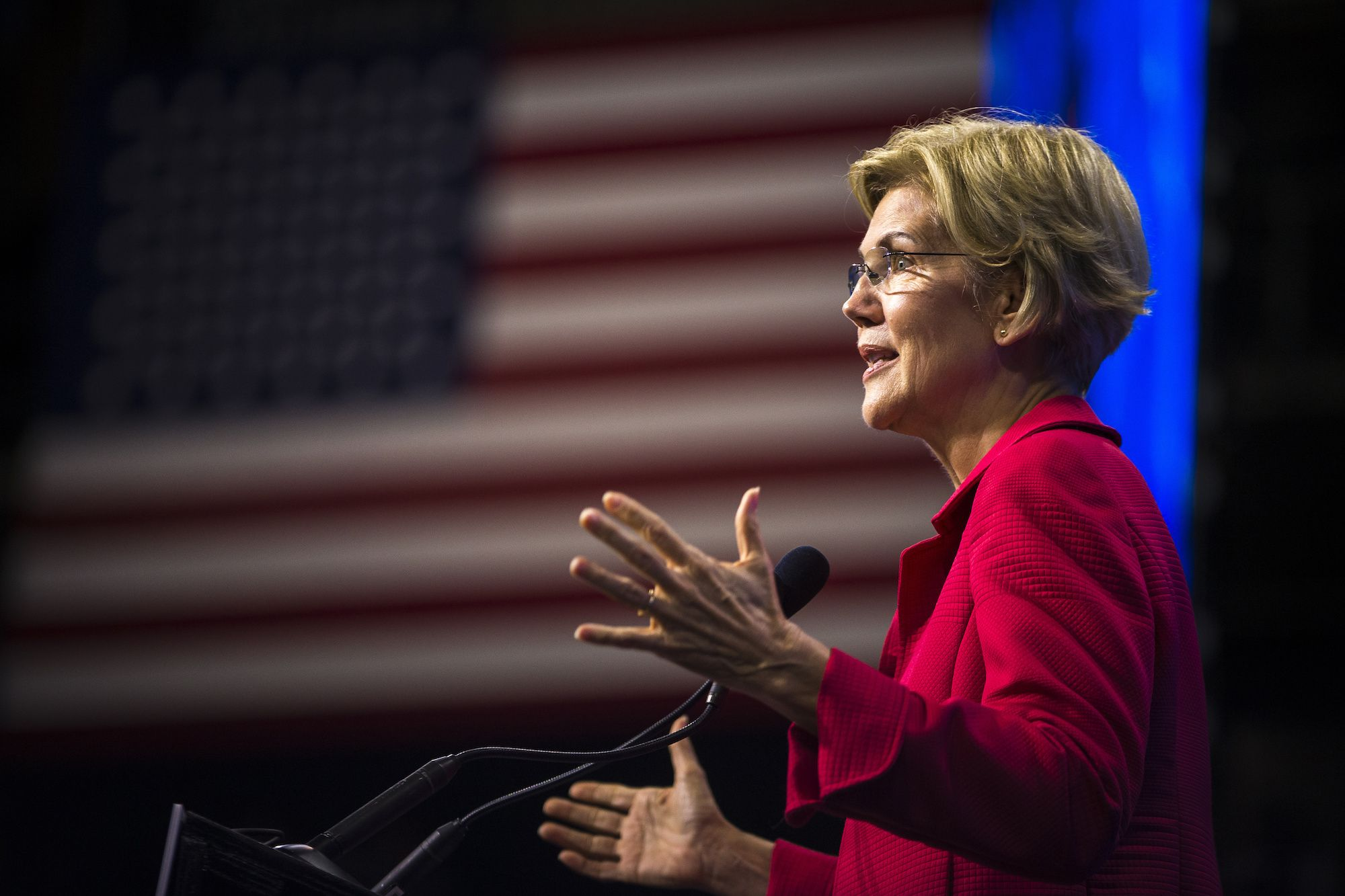 Once Elizabeth Warren Rose in the Polls, You Knew the Nonsense Was Coming