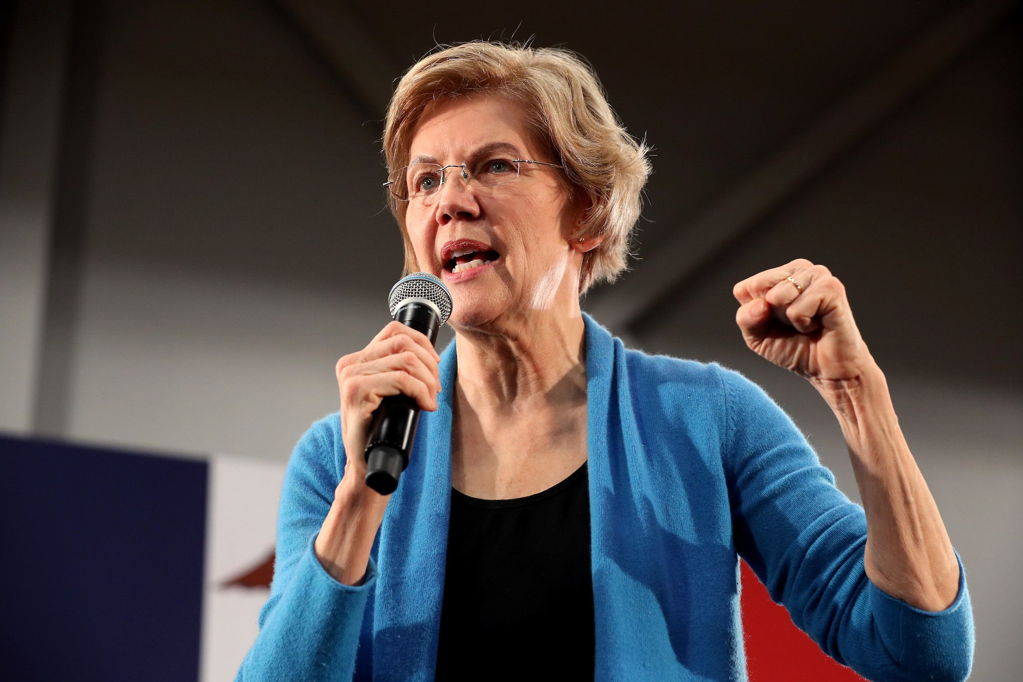 Elizabeth Warren Has Latched Onto the Issue That's Beneath All the Others