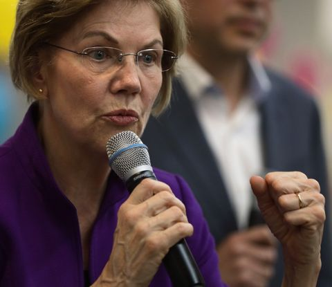Elizabeth Warren Campaigns In Nevada Ahead Of Caucus