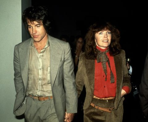 Warren Beatty and Diane Keaton...