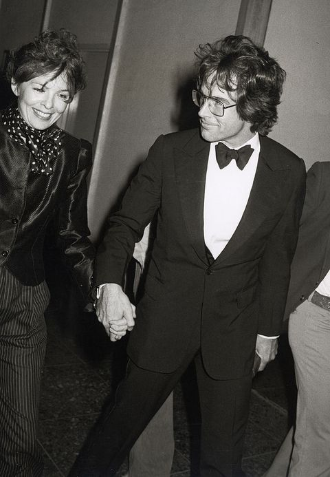 diane keaton and warren beatty during 51st annual academy awards at dorothy chandler pavilion at the la music center in los angeles, ca, united states photo by ron galellaron galella collection via getty images