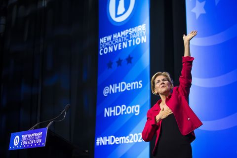 Elizabeth Warren Attacked Over Fundraising From Big-Money Donors